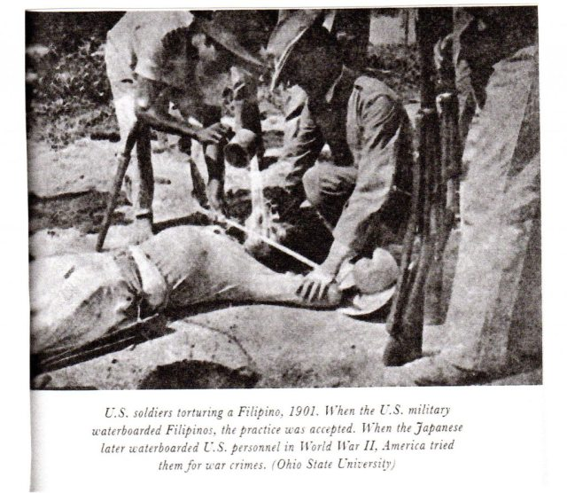Waterboarding openly pracitced and celebrated in U.S. media 1902