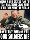 Bush in Costume