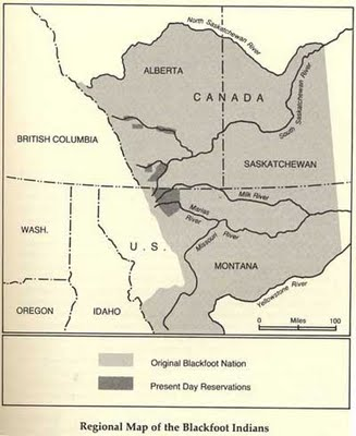 small part of the historical land base of the blackfoot since common ...