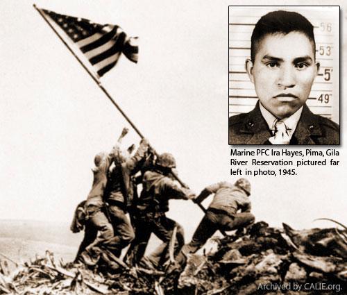 Ira_Hayes_WW2_Flag
