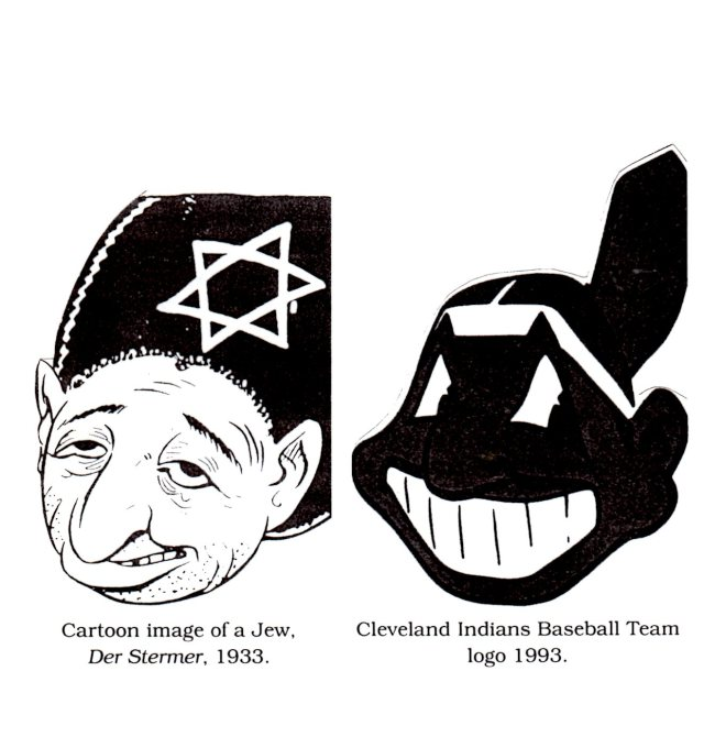 AN EXAMPLE OF RACIST CARICATURE BY JULIUS STREICHER  EDITOR OF THE RACIST AND ANTI-SEMITIC DER STUERMER WHO WAS HANGED FOR RACIST CARICATURES MAKING GENOCIDE EASIER
