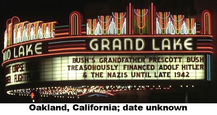 bush family marquee