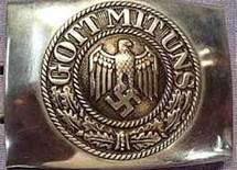 "THE NAZIS TOO CLAIMED ""GOD IS WITH US"" AND WORE THAT MEME ON THEIR BELT BUCKLES AS THEY RAPED AND PILLAGED ALL OVER THE WORLD"