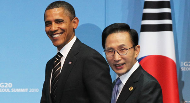 obama 101203_korea_trade_ap_605