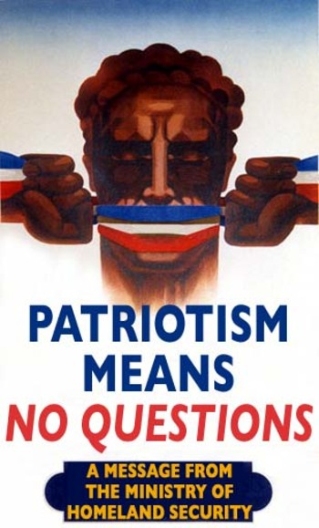 patriotism and propaganda