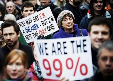 100 richest 1 We are the 99 percent