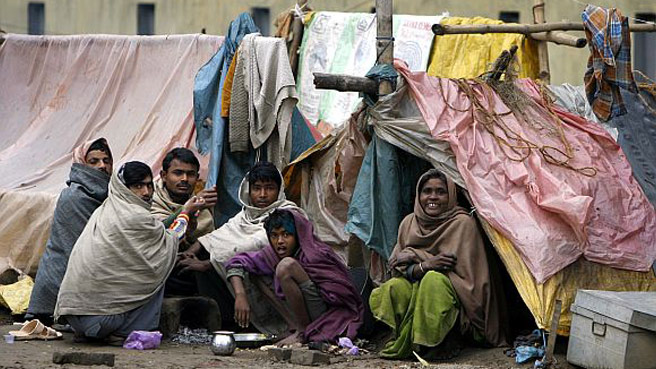 poverty struck india essays