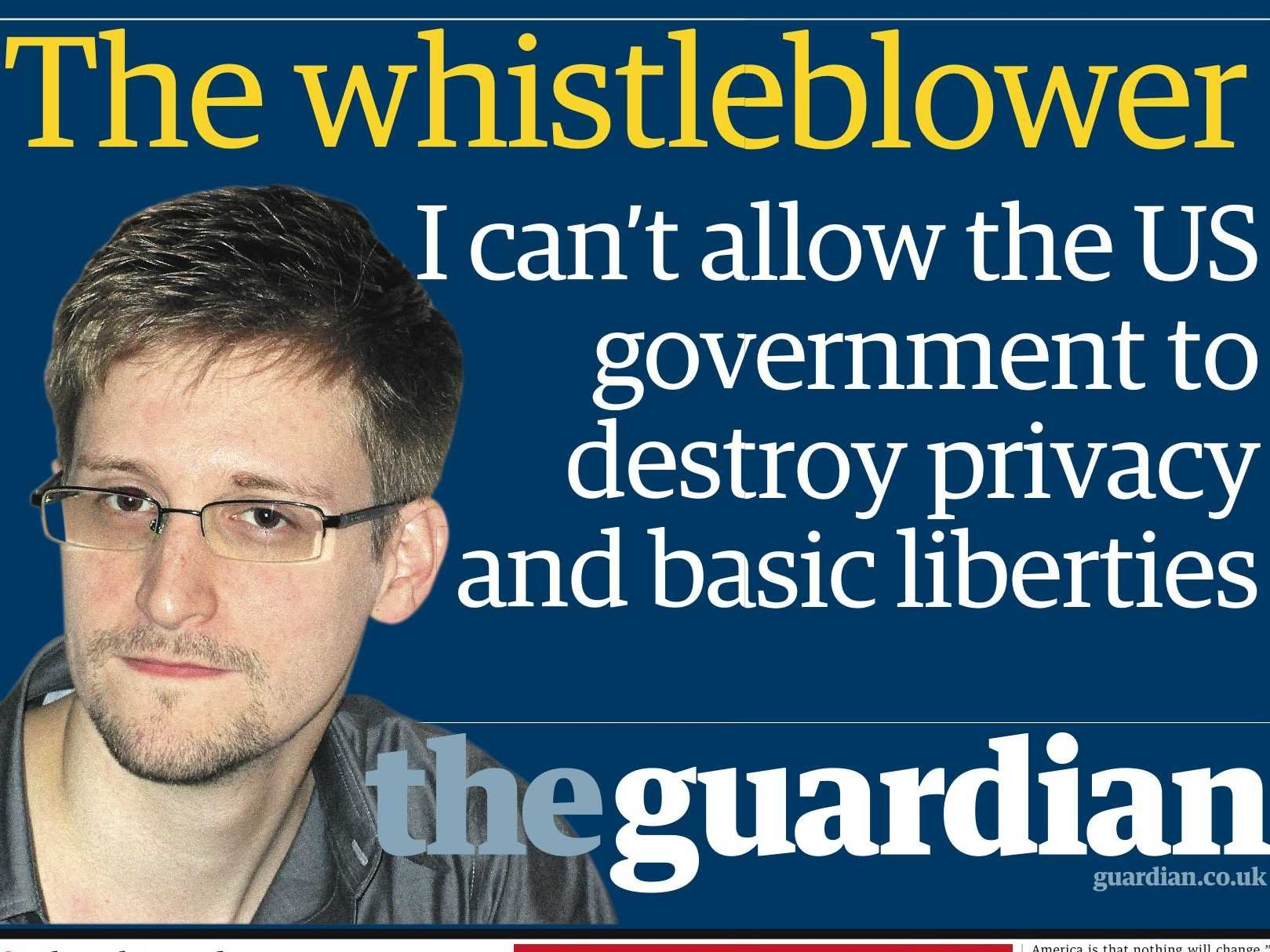 the whistle blower and versus the snitch an evolving essay guardian front page 2 1