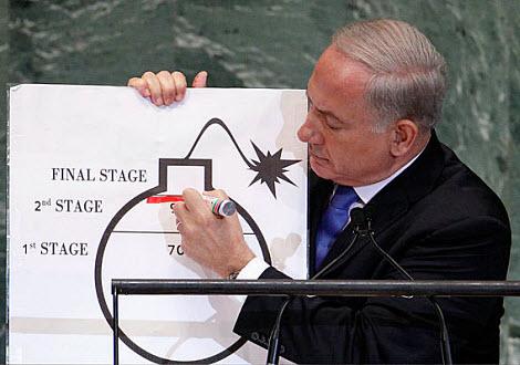 Netanyahu-Iran-red-line