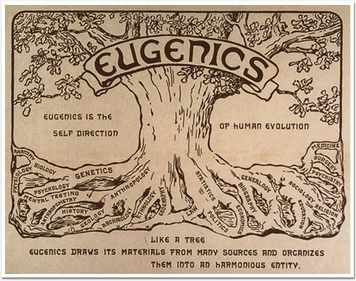 "Logo of the Anglo-American Eugenics Movement that ""Inspired"" the Nazis and their Modern-day Successors"