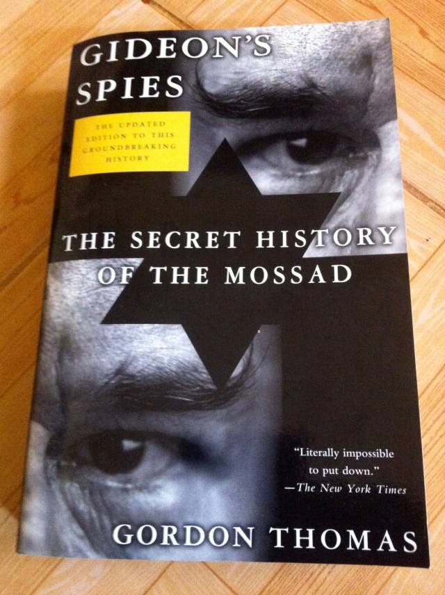 """NOW IN THE 7TH 2012 EDITION: """"TELLS IT LIKE IT WAS--AND LIKE IT IS"""" (Meir Amit, former director general of Mossad)"""