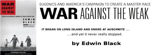 War Against the Weak banner