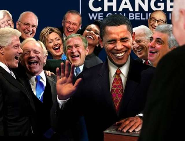 LAUGHING  NEO-CONS