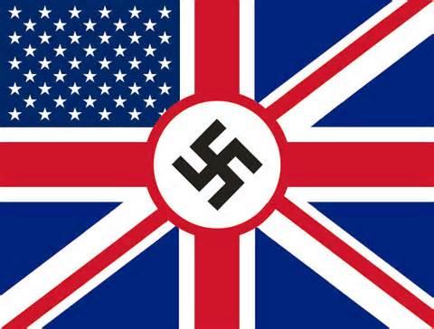 anglo-american nazi flag