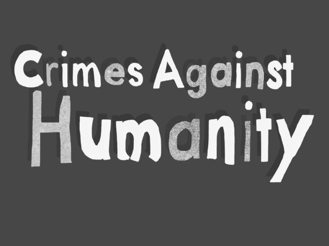 crimes against humanity title