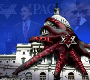 zionism David_Dees_ADL_AIPAC_SPLC_Octopus_grip_on_Capitol_Building-300x2661