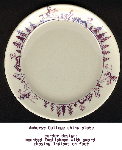 AMHERST CHINA PLATE plate