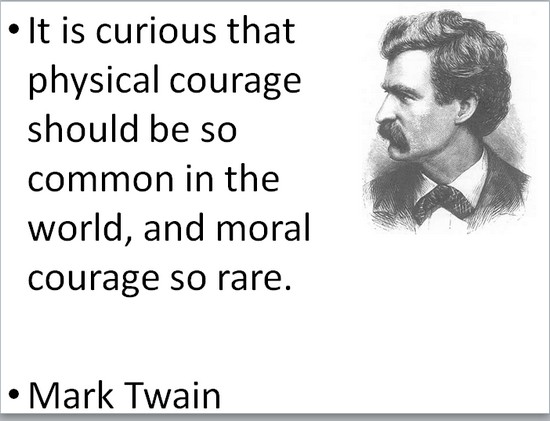 COURAGE twaincourage