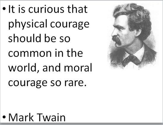 COURAGE twaincourage