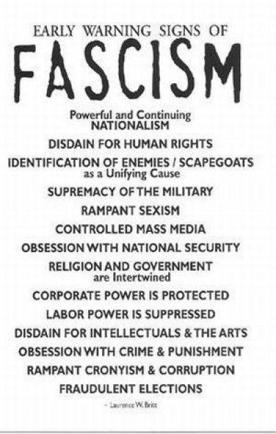 fascismlist