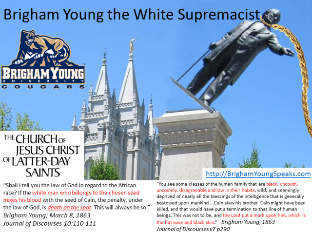 mormonism Brigham Young the White Supremacist